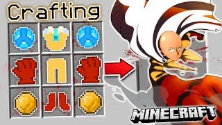 HOW TO SUMMON ONE PUNCH MAN in Minecraft!