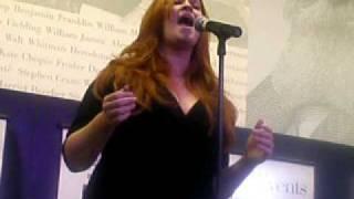 Katie Thompson singing Scott Alan