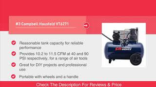 Best Air Compressor For Home Garage and Shop