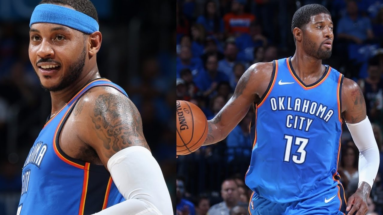 carmelo-anthony-paul-george-thunder-debut-westbrook-triple-double-knicks-vs-thunder