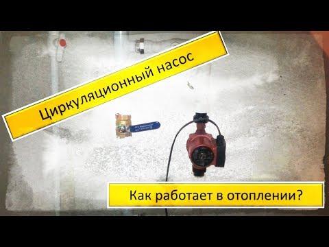 Как работает циркуляционный насос в самотечной системе отопления