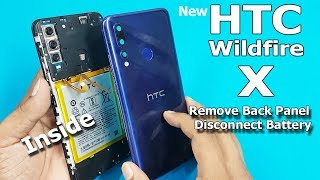 HTC Wildfire X Teardown | How to Open HTC Wildfire X Back Panel and Disconnect Battery