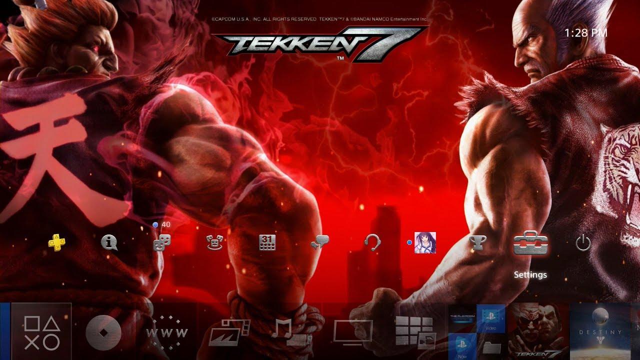 Tekken 7 Dynamic Theme PS4