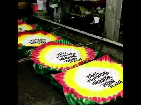 Lithuania Tie Dyed t-shirts