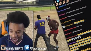 FlightReacts Had To Handle Business After HATER CHALLENGES HIM TO A BOXING MATCH ON GTA 5