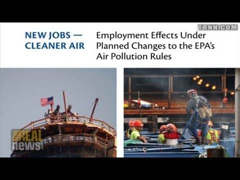 Study Says EPA Standards Will Create Cleaner Air, More Jobs