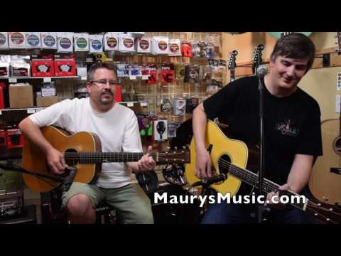 Aaron Short- Norwegian Wood (cover) at Maury's Music