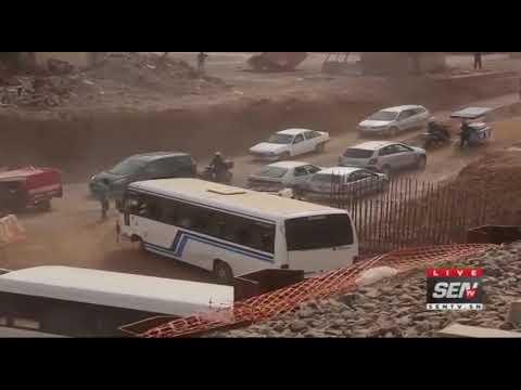 Travaux TER : la circulation bloquée déstabilise Rufisque