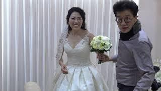 예식전 신부모습/정창민-김정효 혼인식
