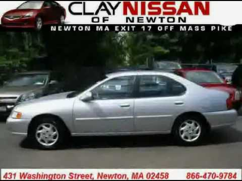 Clay Nissan Newton >> Used Nissan Altima 1999 Located In At Clay Nissan Newton