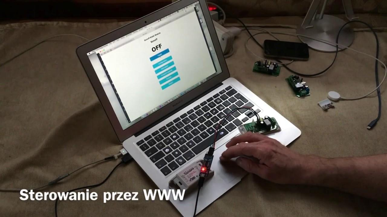 Wgrywanie firmwaru do SONOFF z macOS  Tani przełącznik WiFi