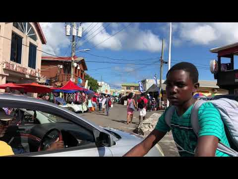 Antigua Staurday Market in St. John's 22nd December 2018