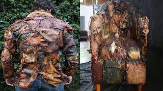 Objetos que Ed Gein hizo con la piel de sus víctimas