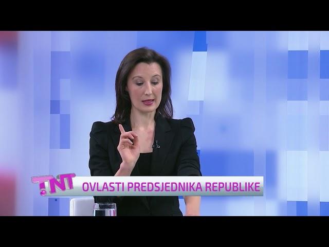 Dalija Orešković - Sučeljavanje predsjedničkih kandidata, 08.12.2019., TNT emisija