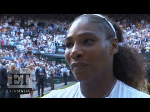 Serena Williams Tears Up After Wimbledon Loss