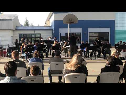 Mitkof Middle School 8th/7th Grade Band Performance    May 20th, 2021