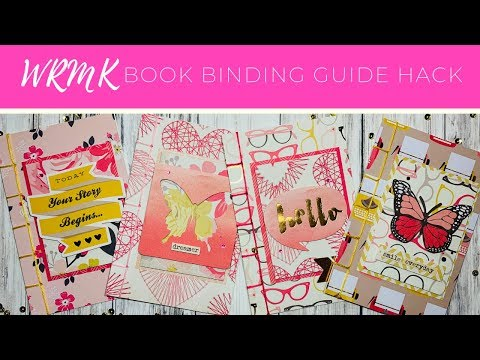 WRMK Book Binding Guide Hack // Beebeecraft