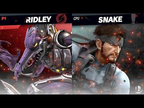 Ridley Vs. Snake | CPU