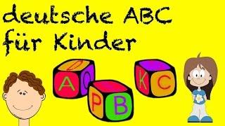 Das einfache und interessante ABC Buchstaben lernen für Kinder   Vorschule für Kinder, die das deuts