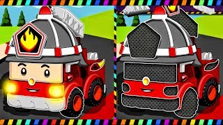 Robocar Poli - Cars and Trucks For Children - Puzzle Cars for Kids | Videos For Kids