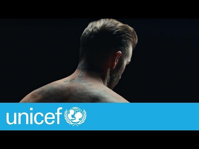 David Beckham: La violencia puede marcar a los niños para siempre | #ENDviolence