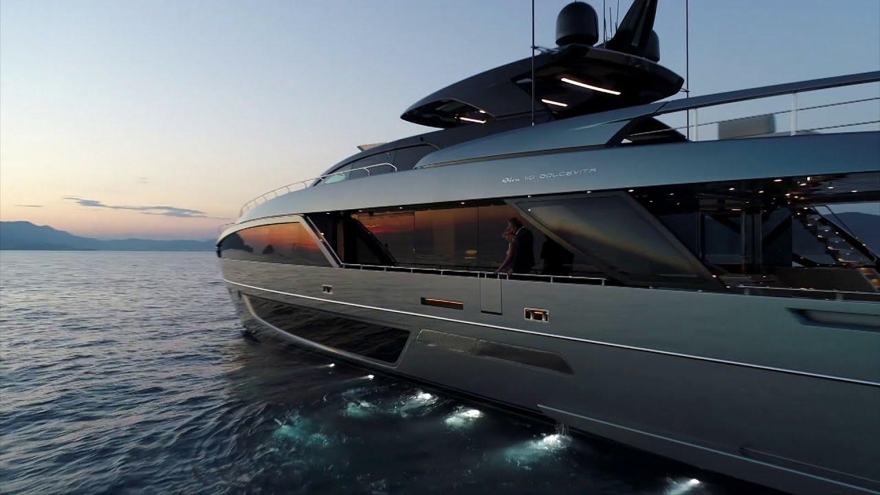 Luxury Yacht   Riva 110&39; Dolcevita   Ferretti Group   YouTube