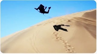 Epic Sandboarding On the Sand Dunes | Riding the Desert Waves