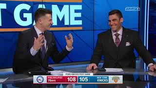 Knicks Comeback Falls Just Short Against 76ers: Highlights & Analysis