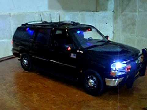 1/18 US Secret Service Suburban SUV Department of Homeland ...
