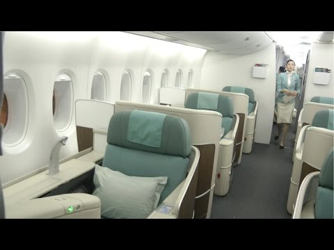 A380 First Class Korean Airlines KE607: Seoul to Hong Kong