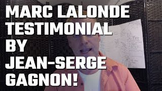 🎥 Marc Lalonde (The Wealthy Trainer) Testimonial by Jean-Serge Gagnon!