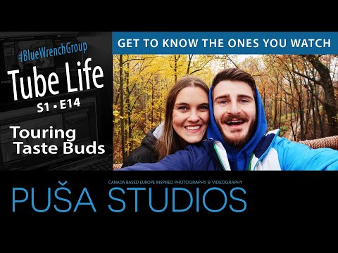 Puša Stream #022: Chad and Stef from Touring Taste Buds
