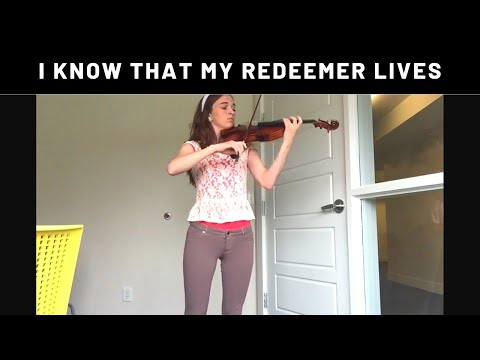 I Know That My Redeemer Lives/I Am a Child of God ~ Crista Guthrie