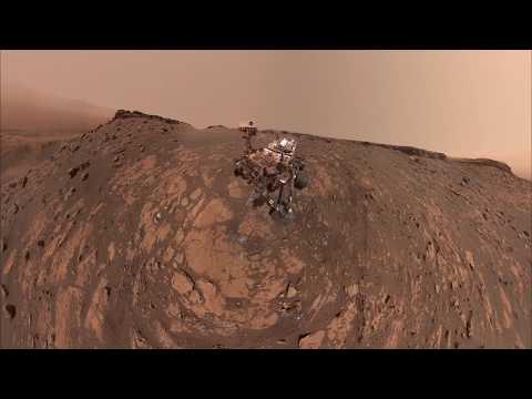 How does Curiosity snap selfies on Mars? Robotic arm choreography