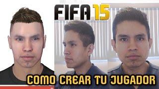 Como CREAR tu JUGADOR en FIFA 15 (Game Face Tutorial)