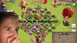 Clash of clans IK BEN BIJNA STADHUIS LEVEL 4 MAX [24#]