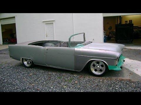 1955 Chevrolet Bel Air LS2 Convertible Build Project