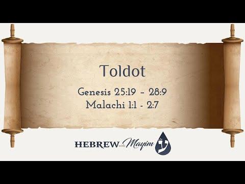 06 Toldot, Aliyah 1 - Learn Biblical Hebrew