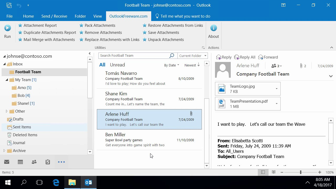 Replace Attachments with Links - Outlook Freeware