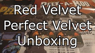 ( 레드벨벳) Red Velvet Perfect Velvet Peekaboo 2nd Album Unboxing
