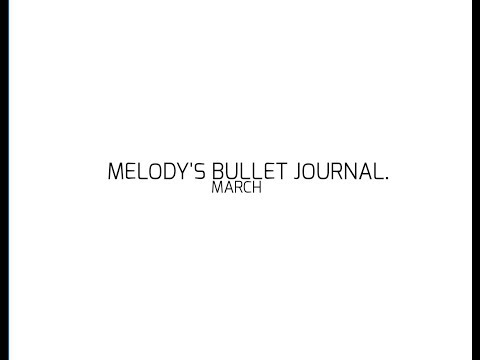 bujo with melody part 1