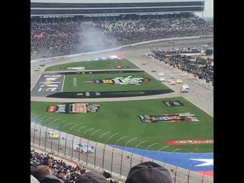 Alex Bowman Texas Motor Speedway Spin