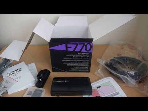Thinkware F770 2ch Dash Cam Review