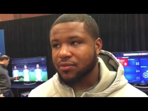 Mike Weber interview at Fiesta Bowl media day