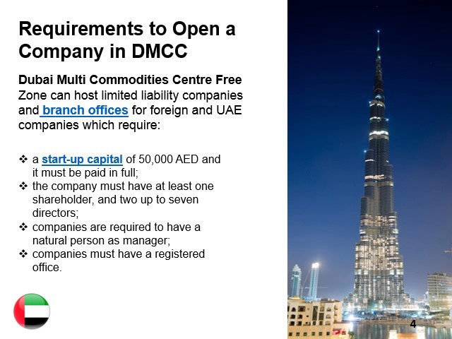 Dubai Multi Commodities Centre Free Zone