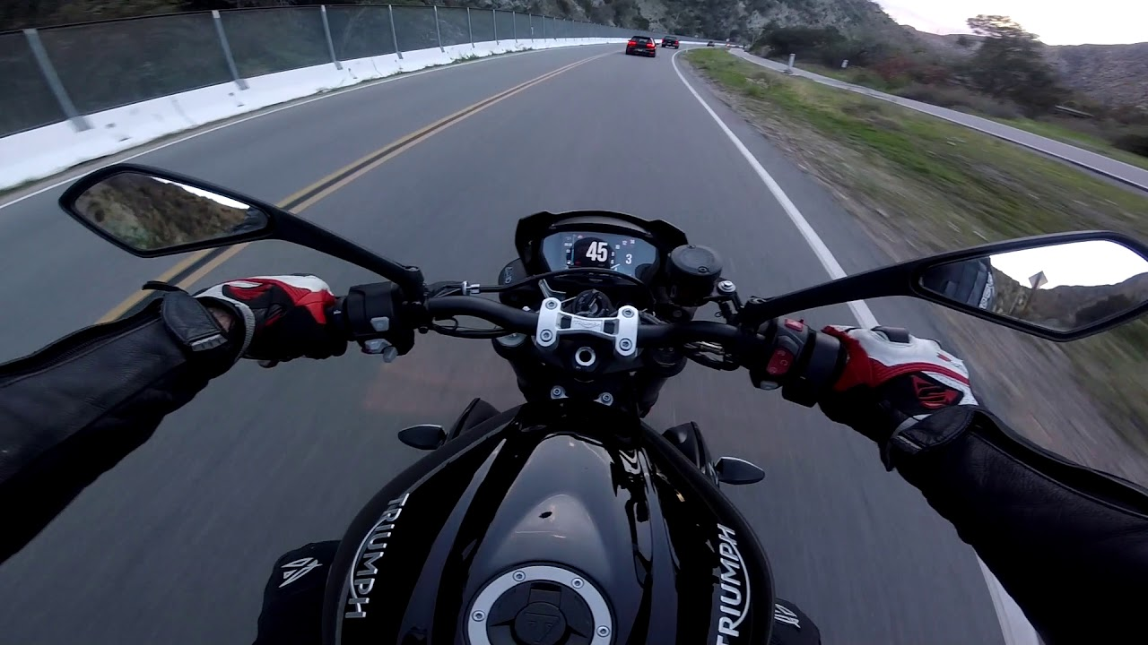 The Amazing Triumph Street Triple 765 R Youtube