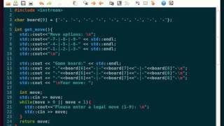 Уроки С++; Крестики-Нолики ч.1