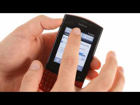Nokia Asha 303 user interface demo