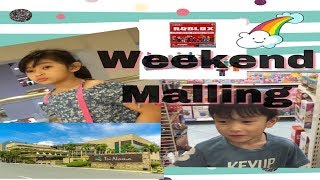 Week-end Malling w/ Rouge - Onyx (Toys R Us-Roblox Blind Box Series-Play Doh-Tokyo Bubble Tea-Trinoma)