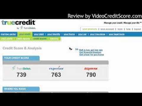 TrueCredit Review 3 Bureau Credit Monitoring